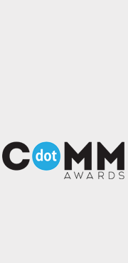 2017 dotCOMM Awards Honorable Mention for Web Design: Manufacturer
