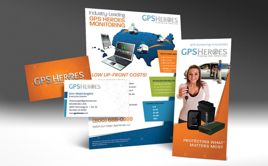 GPS Heroes Rebrand