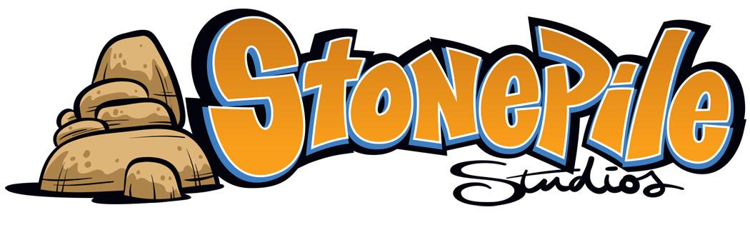 Stonepile Studios Logo Design