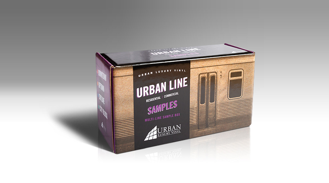 Urban Luxury Vinyl Product Packaging Design