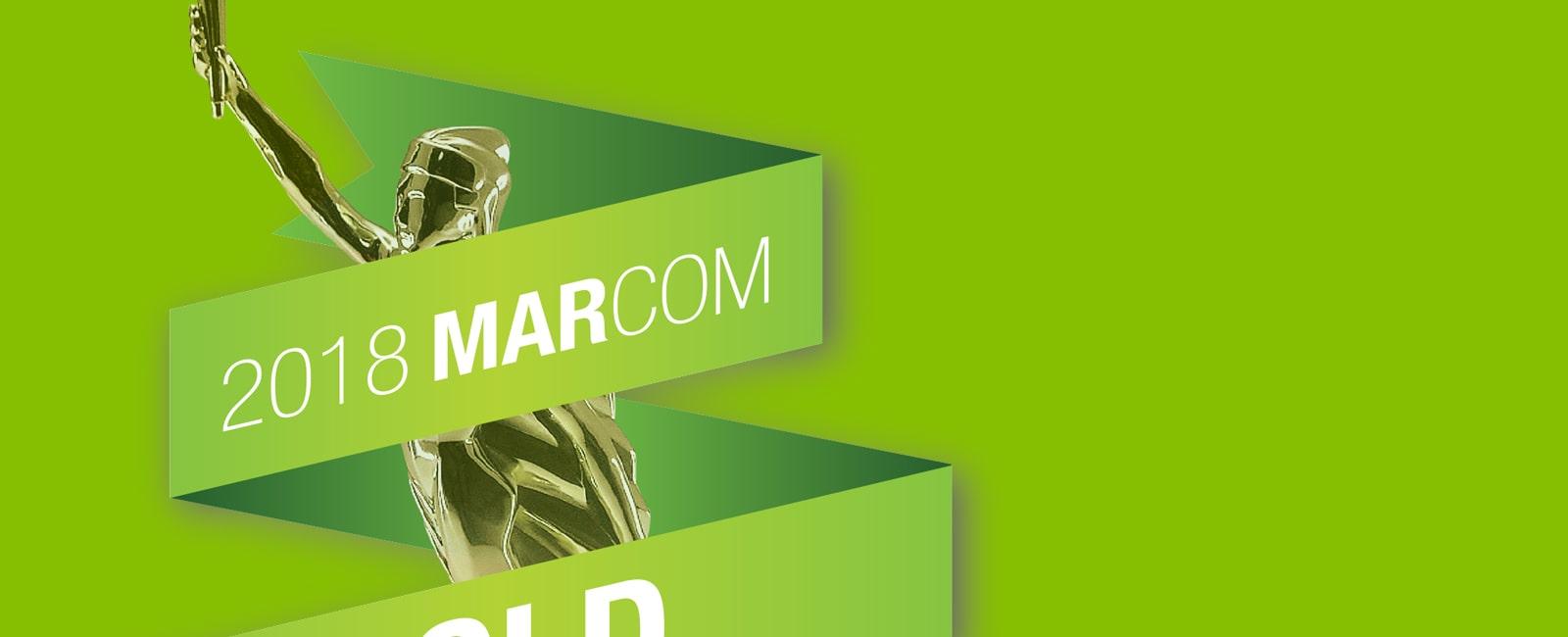 marcom web design awards