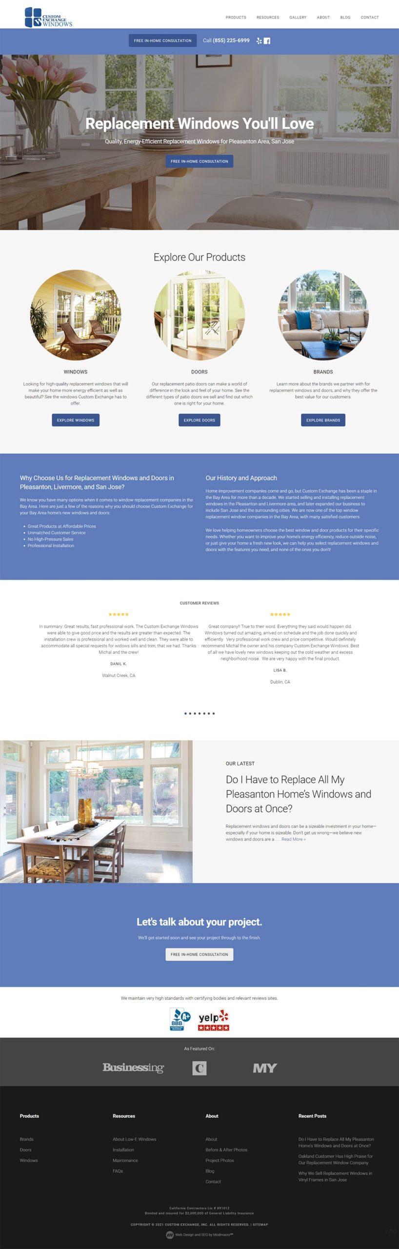 pleasanton, ca web design